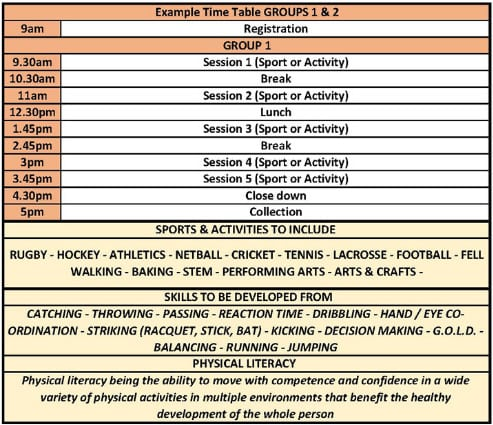 Timetable New